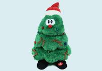 电动音乐圣诞树