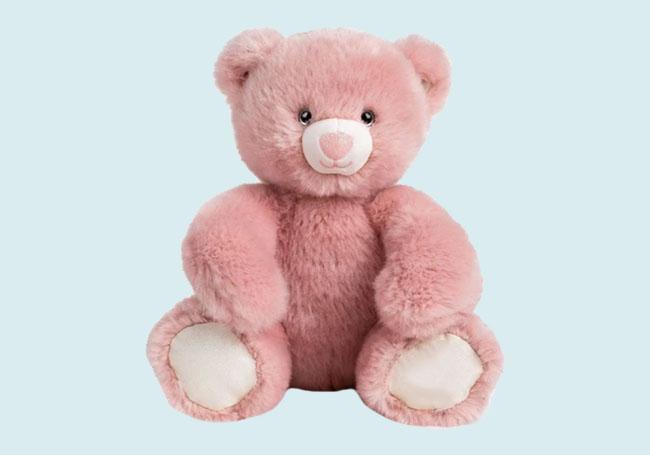 粉色大熊熊毛绒玩具