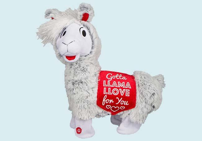 Twerking Llama毛绒玩具