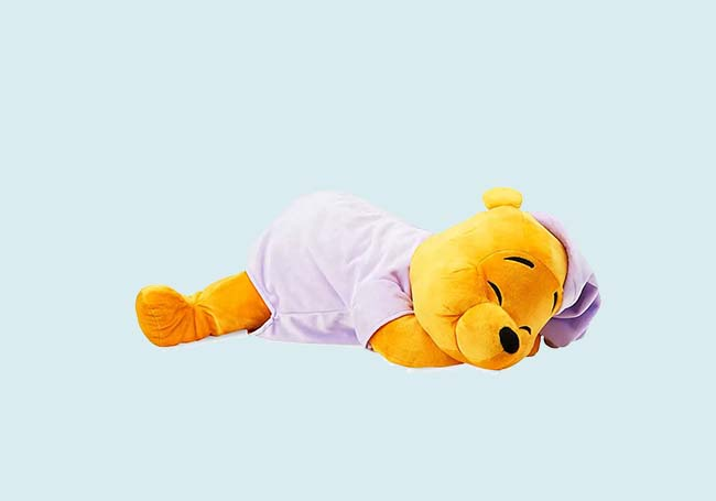 晚安维尼毛绒玩具