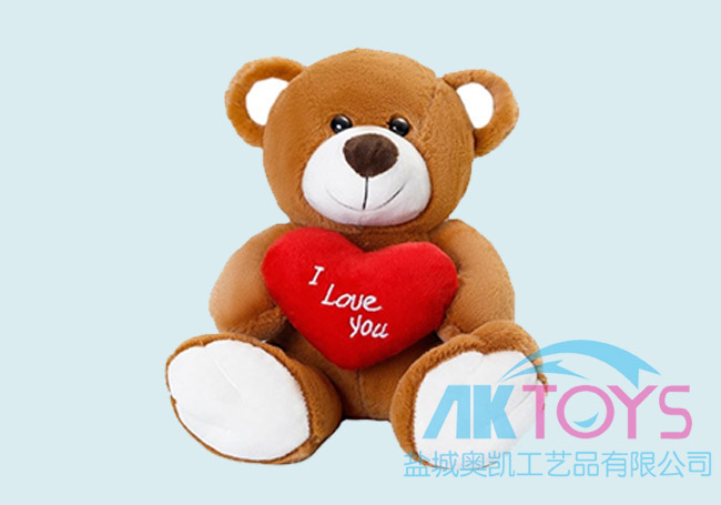 情人节爱心小熊