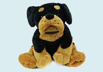 黑棕色沙皮狗