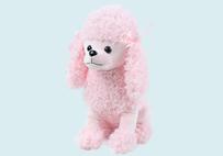 粉色贵宾犬