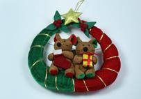 圣诞鼠吊环