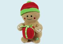 电动圣诞姜饼人