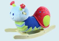 蜗牛儿童木马