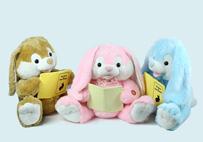 超萌读书兔