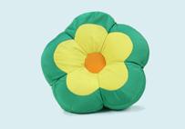 超舒服粒子花朵抱枕(绿色)