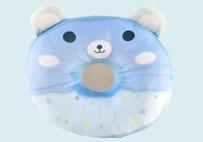 甜甜圈抱枕(蓝色)