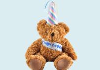 生日泰迪熊