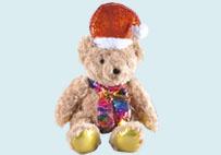 圣诞泰迪熊毛绒玩具