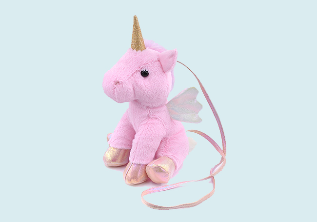 粉红独角兽背包