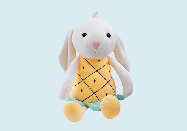 菠萝小兔玩具