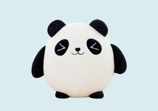 萌萌小熊猫玩具