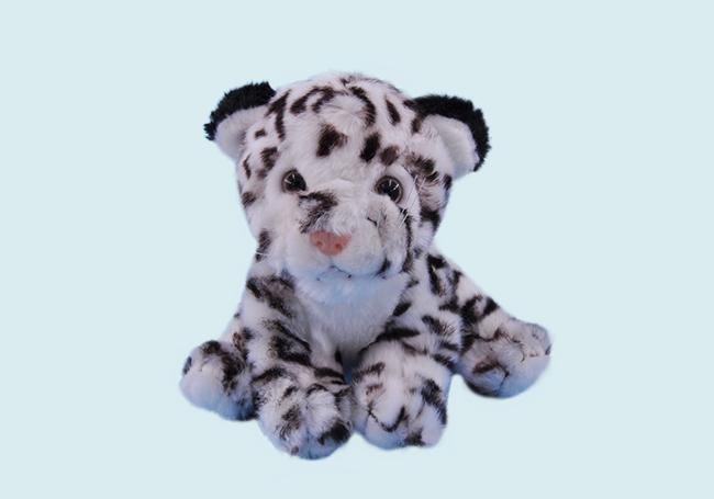 小白虎毛绒玩具