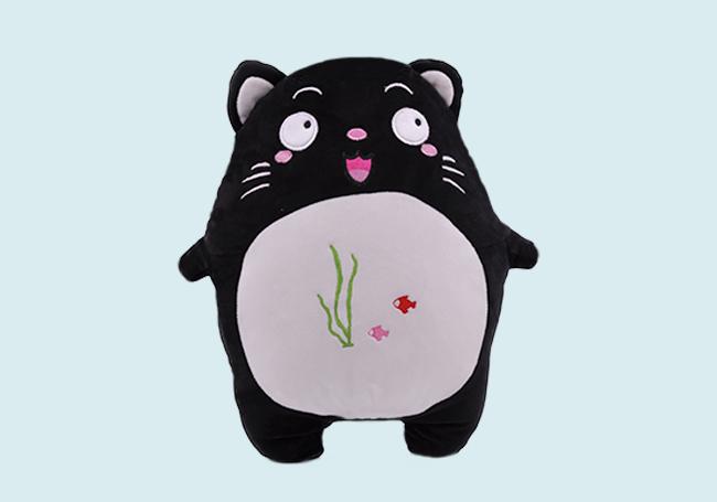 海底世界小黑猫玩具