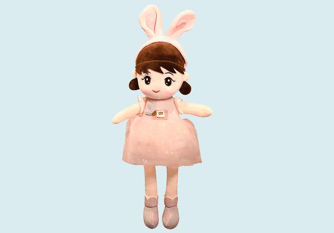 小兔发箍女孩玩具