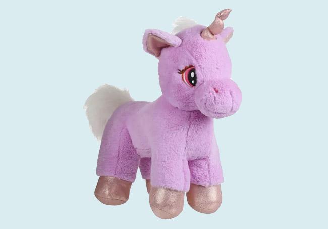 紫色站姿独角兽玩具