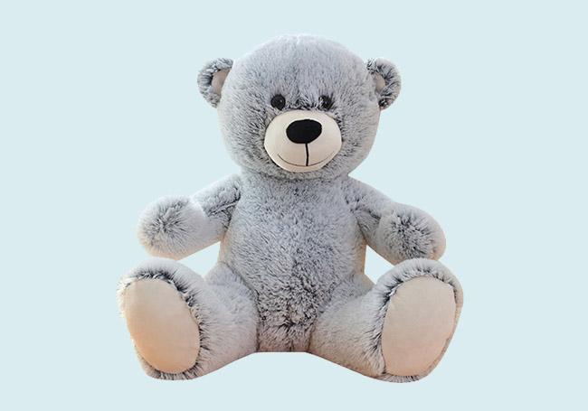 灰色泰迪熊玩具