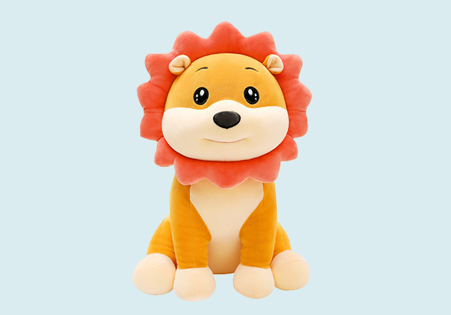 小狮子毛绒玩具