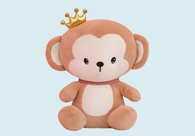 皇冠小猴子玩具