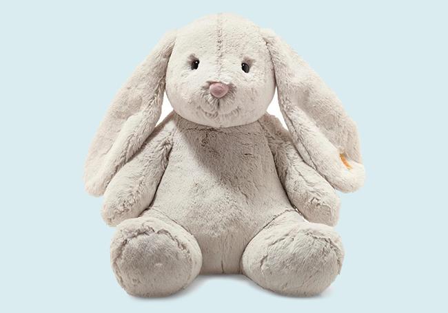 白色小兔毛绒玩具