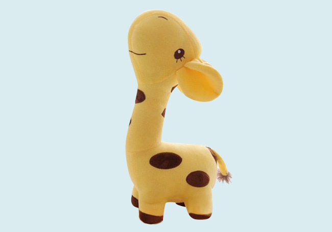 抬头长颈鹿玩具