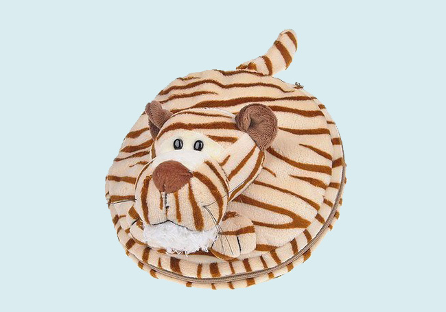 小老虎绒毛毯
