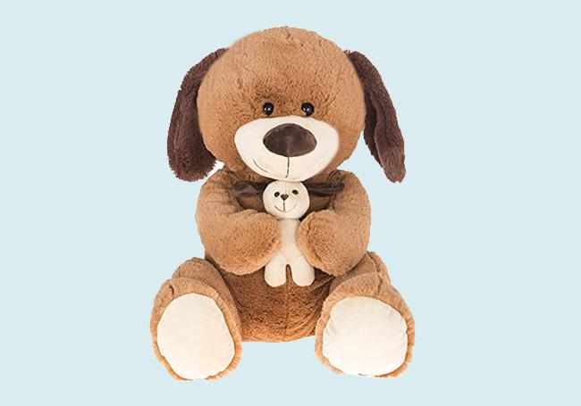 狗狗抱抱毛绒玩具
