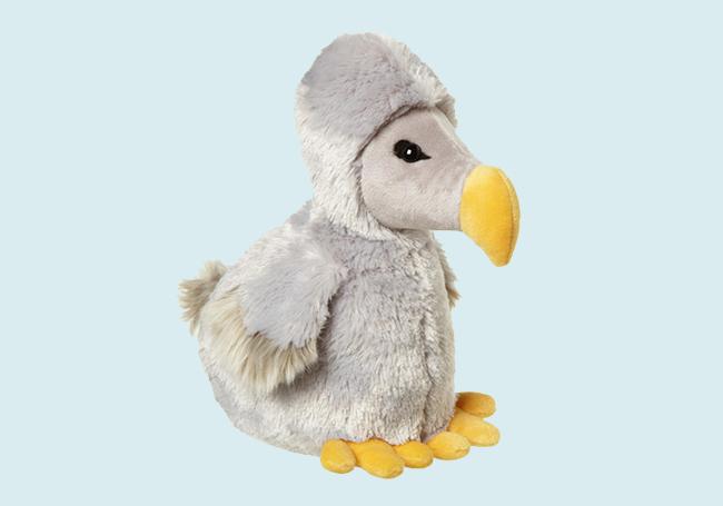 海鸥毛绒玩具