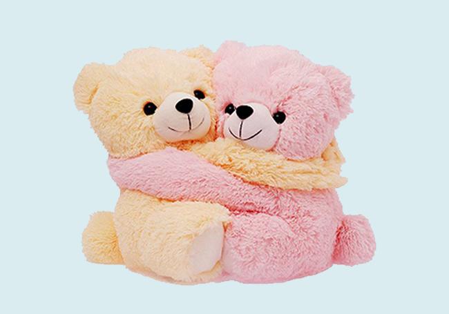 有爱小熊熊毛绒玩具