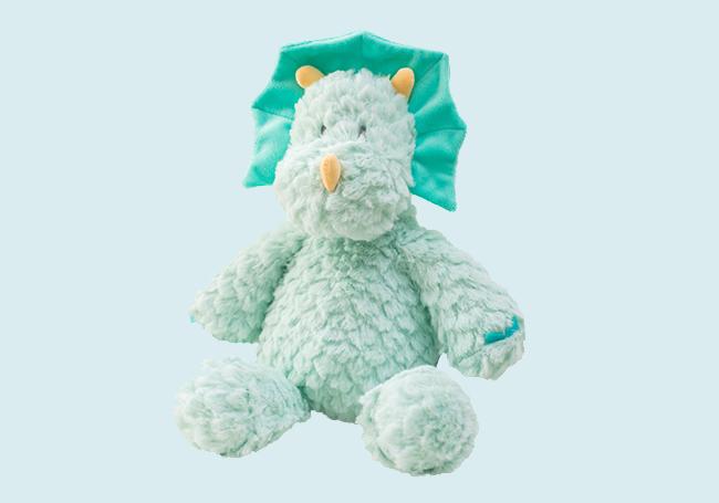 绿色小恐龙毛绒玩具