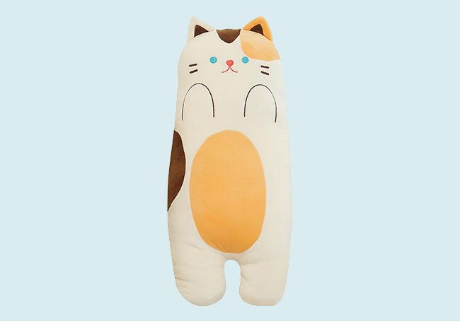 可爱小花猫抱枕