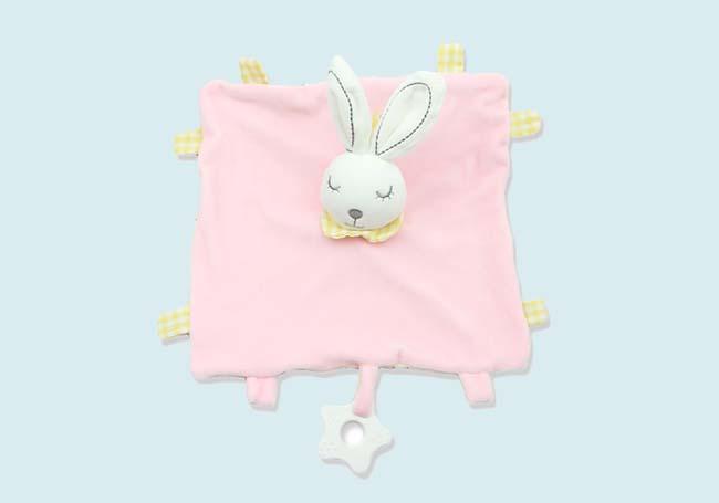 粉红兔兔口水巾