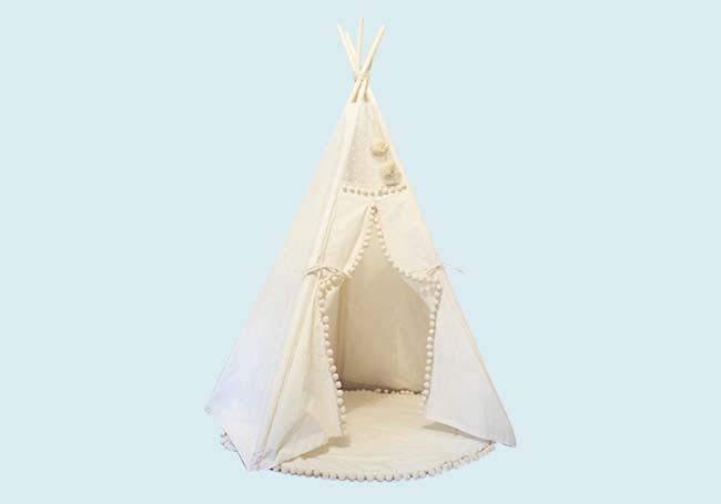 儿童营地小帐篷