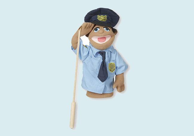 警察叔叔手偶