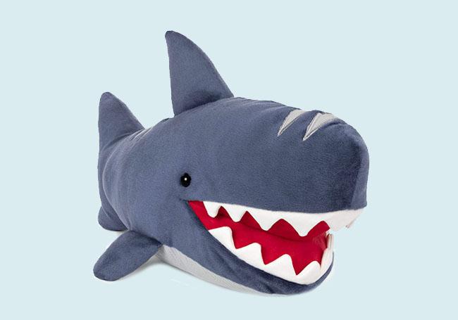 巨口大白鲨毛绒玩具