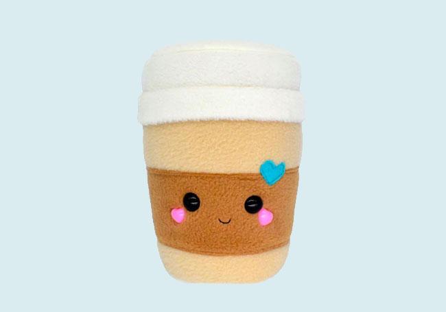 甜心咖啡杯毛绒玩具