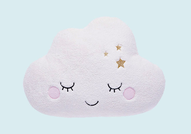 白色棉花糖云朵毛绒玩具