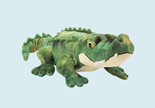 霸气小鳄鱼毛绒玩具