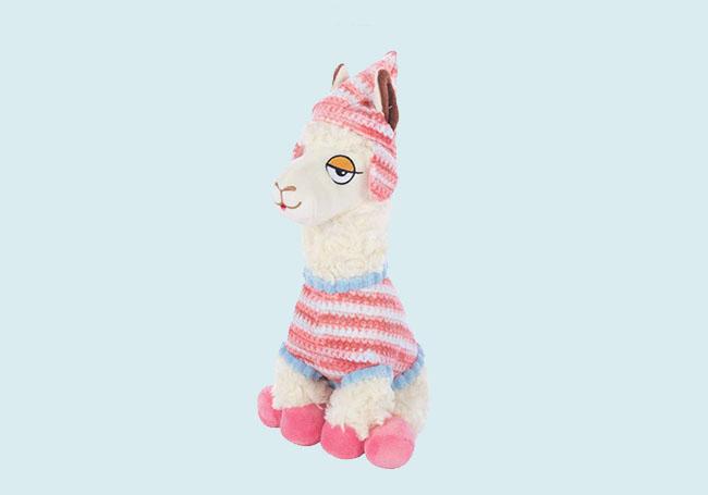 想睡觉羊驼玩具