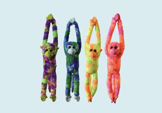 双手举高高小猴玩具
