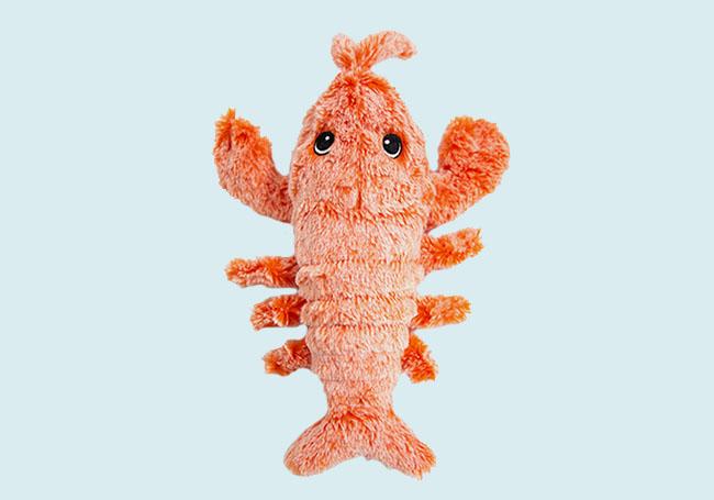 小虾米狗狗啃咬玩具