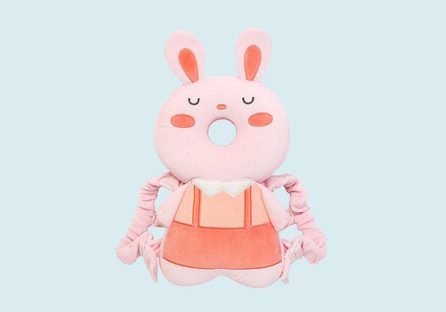 小兔婴儿背带头枕
