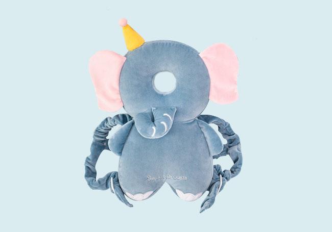 小象婴儿背带头枕