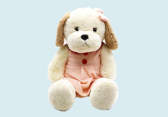粉红小裙狗狗玩具