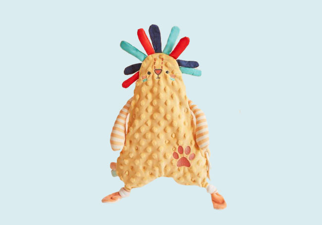 小动物儿童安抚巾系列