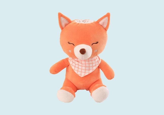 围巾小狐狸毛绒玩具