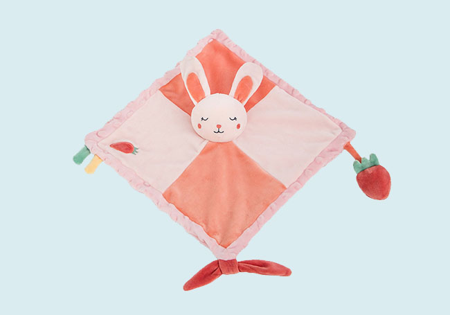 小兔兔口水巾