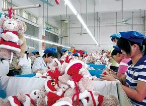 毛绒玩具OEM代工